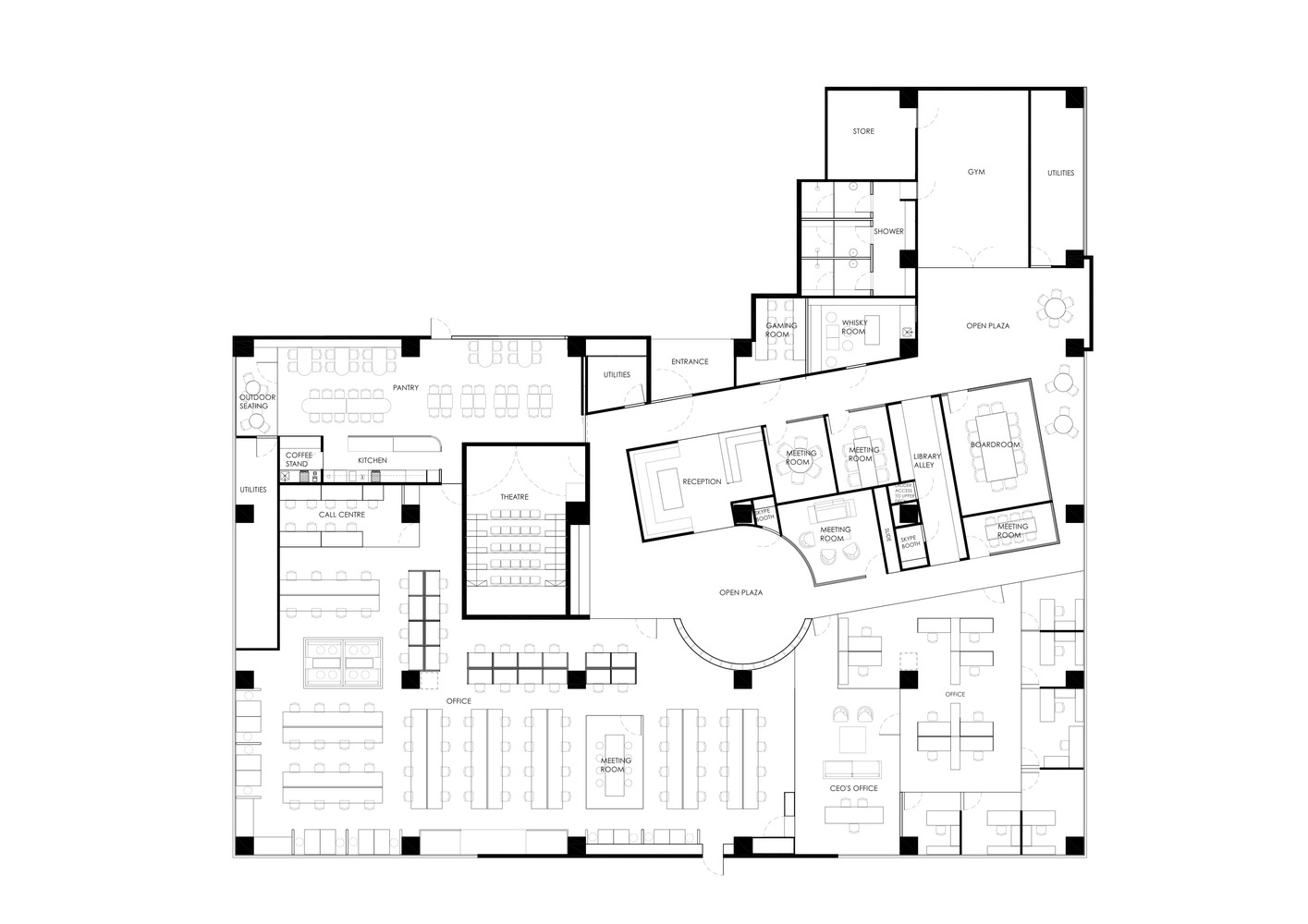 HONESTBEE_OFFICE_PLAN_150_WITH_ANNOTATIONS