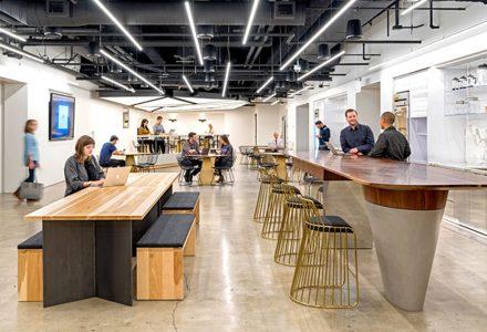 科幻的Uber旧金山总部办公室/O+A