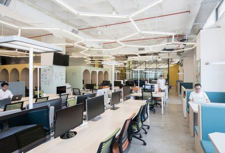 新加坡Honestbee电商公司办公室设计