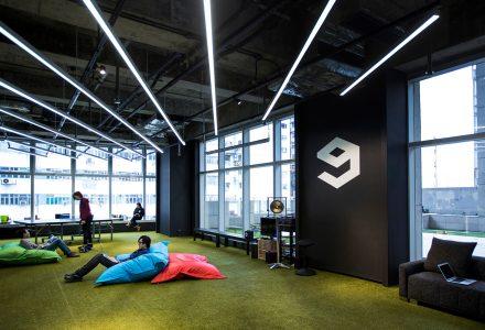 香港9GAG互联网公司办公室设计