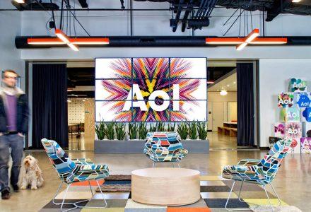 帕洛阿尔托AOL创意办公室/O+A