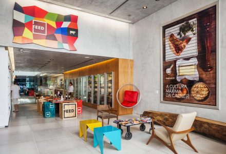 巴西圣保罗FEED肉食品牌旗舰店设计
