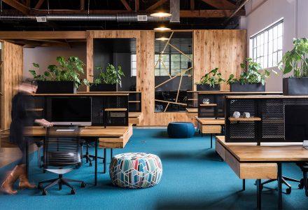 波特兰BeFunky办公室设计