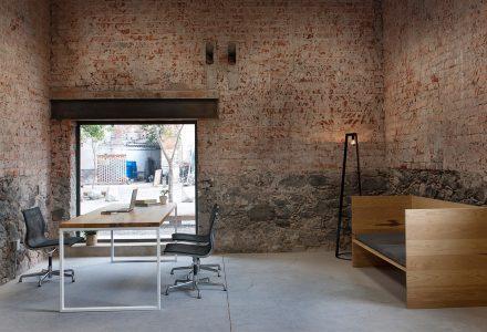 墨西哥老建筑改造办公室—CDLE