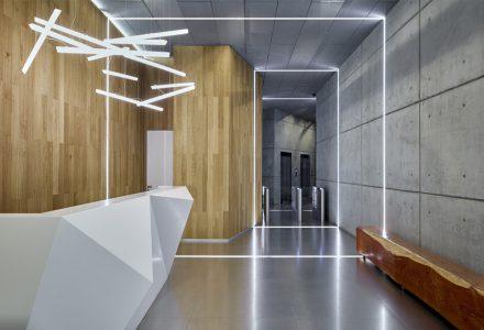 叶卡捷琳堡智慧园区办公与服务空间设计