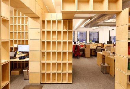 木盒子办公室设计—Echoing Green
