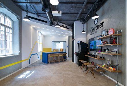 以色列Gartner创新中心办公室设计
