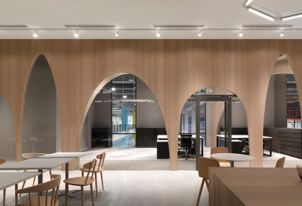 台北H&M物流办公室设计