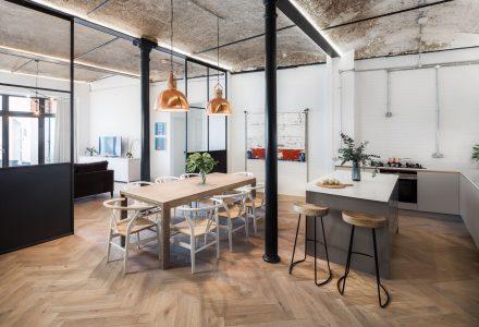 伦敦遗留面包房改造住宅