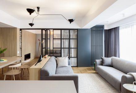 中性、温和的布加勒斯特公寓
