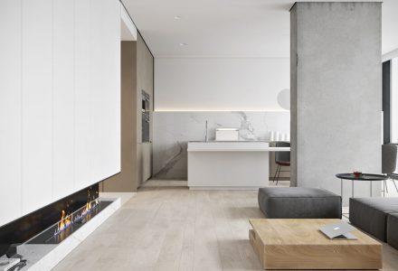 高级灰极简主义精品住宅设计