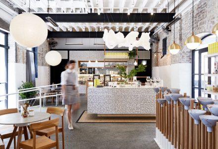 悉尼·The Rabbit Hole有机茶饮吧设计