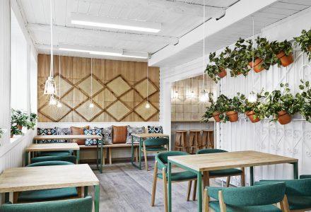 西班牙Vino Veritas Oslo生态餐厅设计