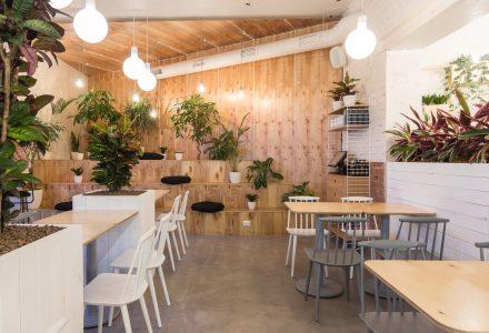 圣彼得堡·家具店改造的Radosti Coffee咖啡馆