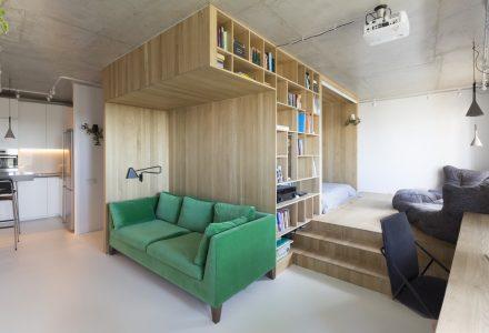 小户型功能性住宅设计