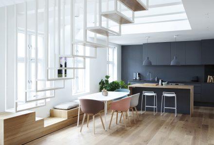 简洁的北欧风格LOFT小户型设计