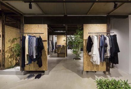 日本老房改造的Ankara女装店设计