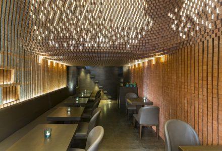 伊朗德黑兰Espriss参数化咖啡店设计