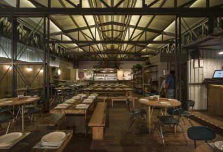 加利福尼亚旧船厂改造餐厅