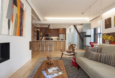 历史建筑内住宅空间改造