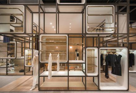 """融在时尚店铺中的上海""""里弄""""—创x奕"""