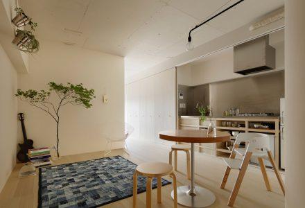 日本狭长小户型公寓翻新设计