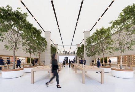 伦敦·苹果零售体验店设计 / Foster+Partners