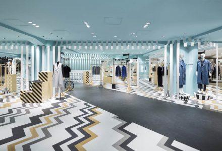 东京·游乐园主题Key to Style时尚女装店铺