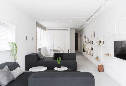 80㎡休闲北欧风小户型公寓设计