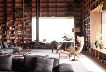 拥有超多展示空间的豪华顶层公寓