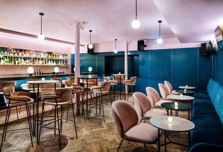 伦敦·旧仓库改造Grind&Co精致酒吧餐厅