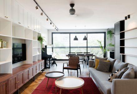 70年代小户型公寓翻新设计