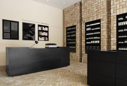 """芝加哥·""""回收砖""""打造Aesop护肤品牌专卖店"""
