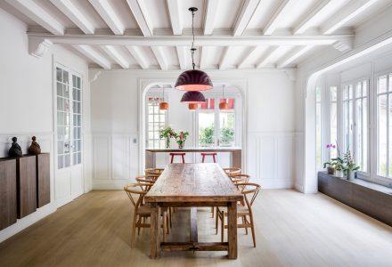 巴黎老住宅建筑翻新设计