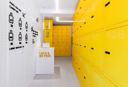西班牙马德里·Lock&Be Free连锁储物店