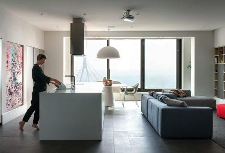乌克兰200平米现代简约住宅设计