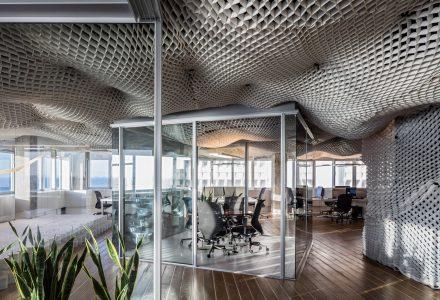 """以色列拥有""""云朵天花板""""的PRS办公室"""