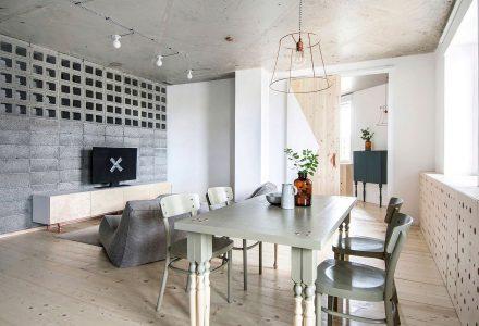 62㎡温馨轻工业风小公寓设计