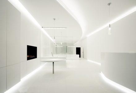 白色主义工作室设计