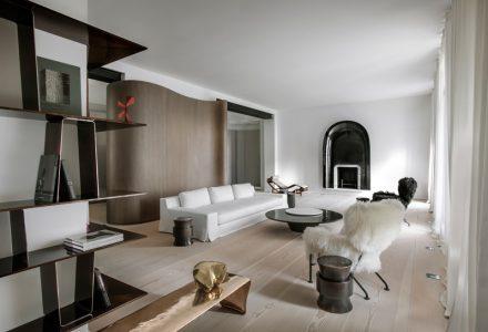 巴黎资产阶级别墅翻新设计