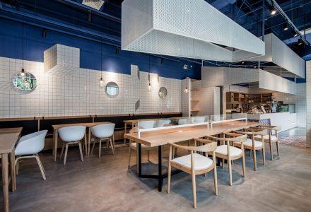 上海·Paras蓝色航海主题咖啡厅