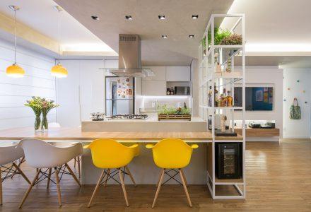 巴西利亚70㎡小户型住宅设计