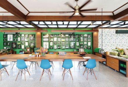 泰国传统草药品牌Sampran办公室
