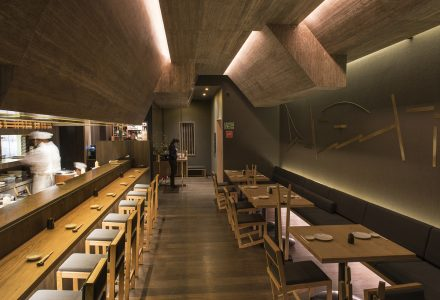 墨西哥·Tori Tori Altavista品牌寿司店设计