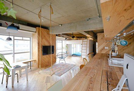 67㎡工业风小户型住宅设计
