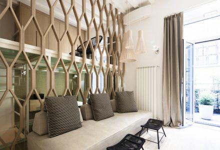 米兰简约的三层LOFT住宅设计