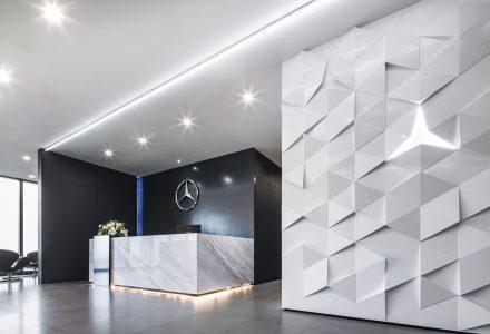 梅赛德斯奔驰泰国新总部办公室