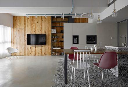 24平方米混搭风小户型公寓设计