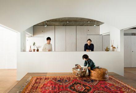 东京94㎡现代日式住宅翻新设计