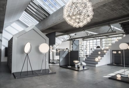 丹麦品牌FLOS家庭照明展示厅设计